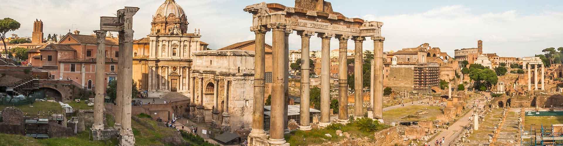 Roma – Albergues próximos a Forum Romanum. Mapas para Roma, Fotos e Avaliações para cada Albergue em Roma.
