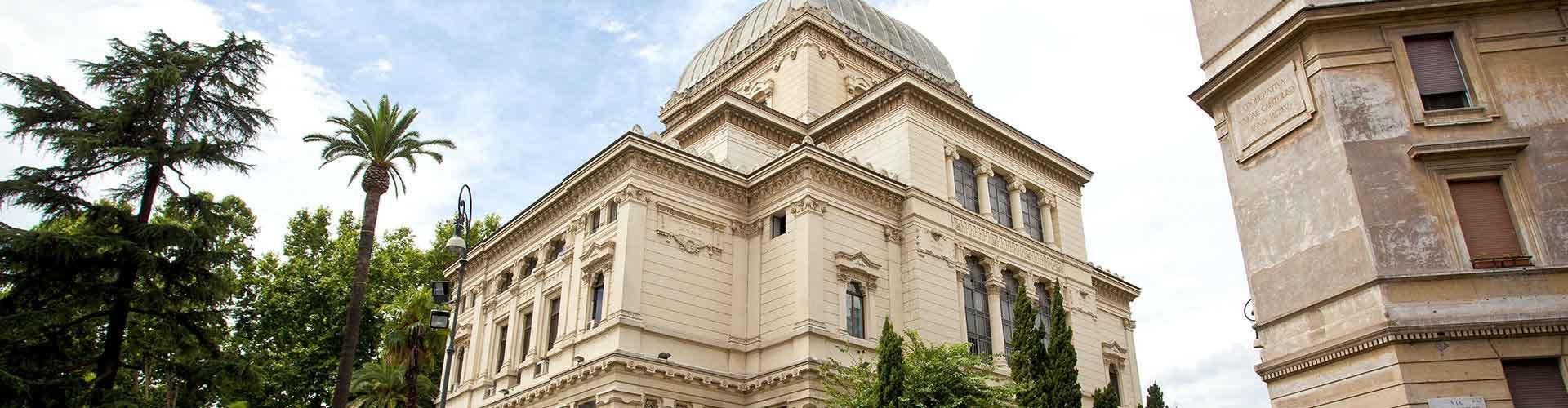 Roma – Albergues próximos a Grande Sinagoga de Roma. Mapas para Roma, Fotos e Avaliações para cada Albergue em Roma.