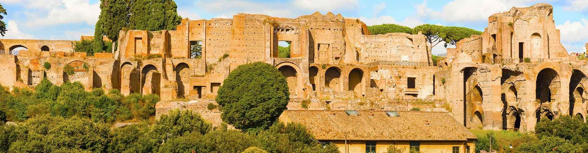Roma – Albergues próximos a Monte Palatino. Mapas para Roma, Fotos e Avaliações para cada Albergue em Roma.