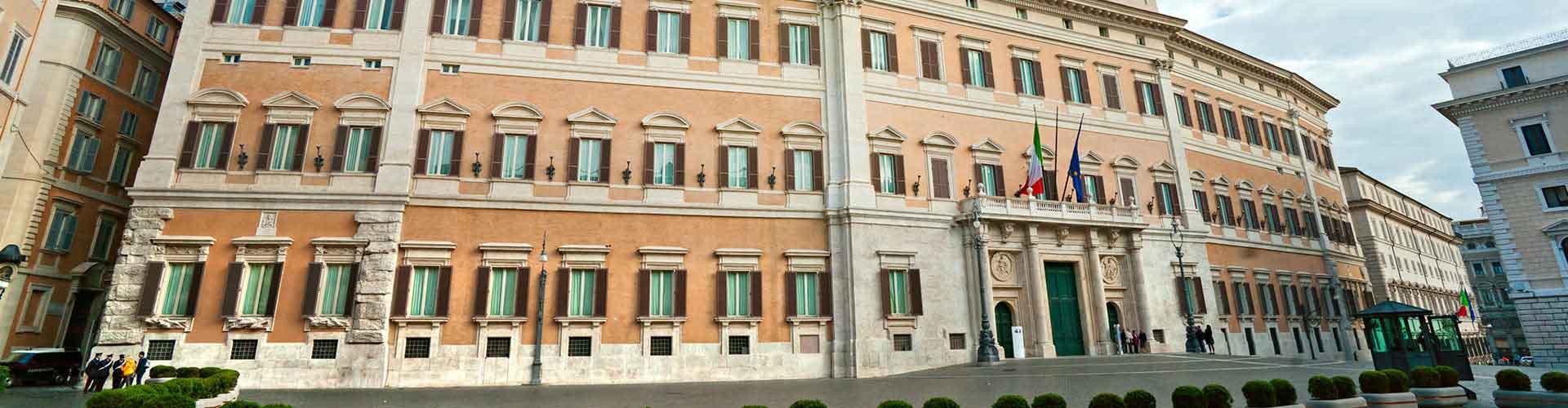 Roma – Albergues próximos a Palazzo Montecitorio. Mapas para Roma, Fotos e Avaliações para cada Albergue em Roma.