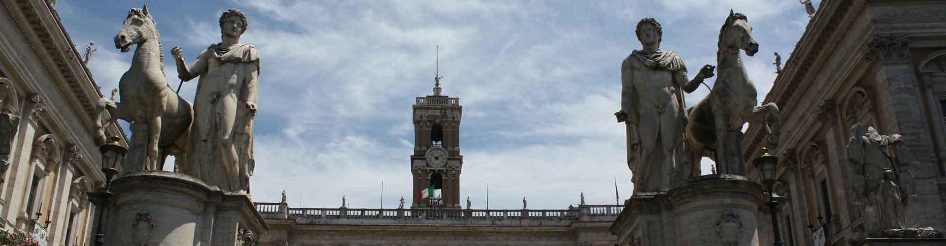 Roma – Albergues próximos a Piazza del Campidoglio com Museus Capitolinos. Mapas para Roma, Fotos e Avaliações para cada Albergue em Roma.