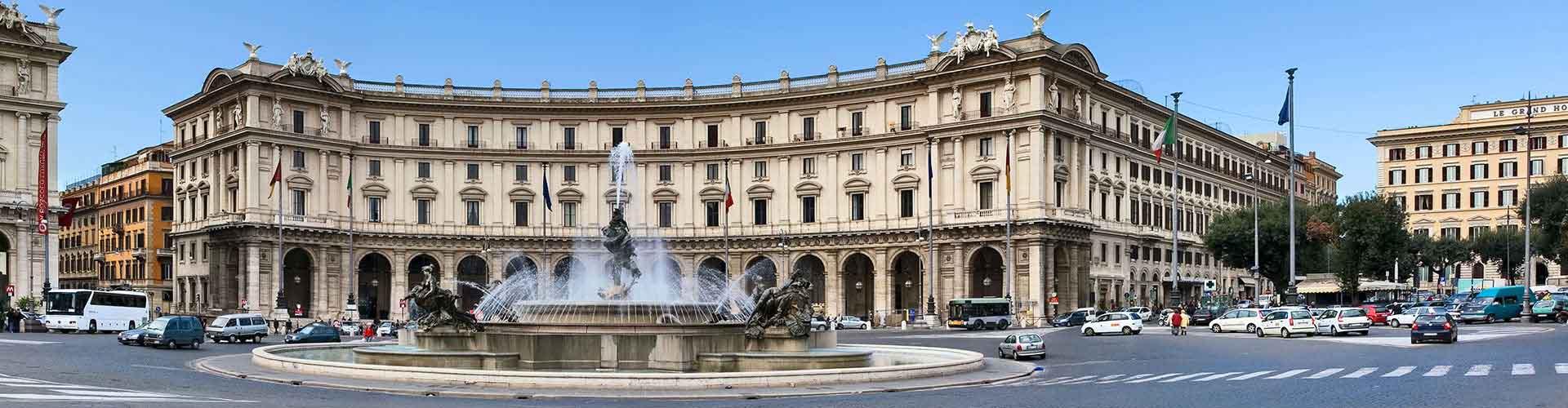 Roma – Albergues próximos a Piazza della Repubblica. Mapas para Roma, Fotos e Avaliações para cada Albergue em Roma.