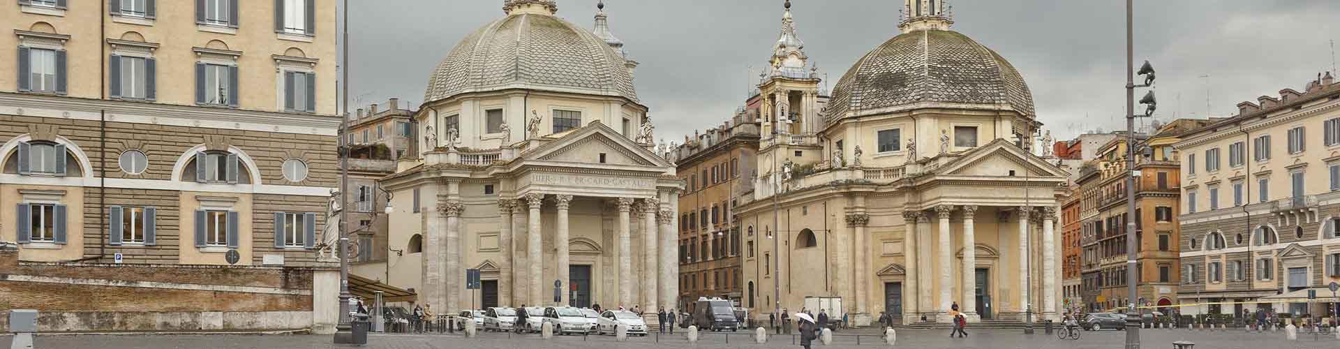 Roma – Albergues próximos a Santa Maria del Popolo. Mapas para Roma, Fotos e Avaliações para cada Albergue em Roma.