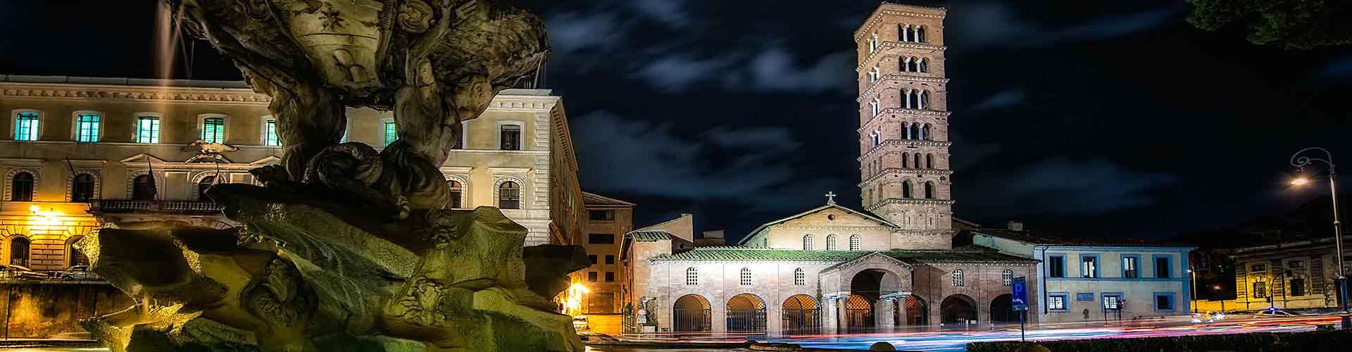Roma – Albergues próximos a Santa Maria em Cosmedin. Mapas para Roma, Fotos e Avaliações para cada Albergue em Roma.