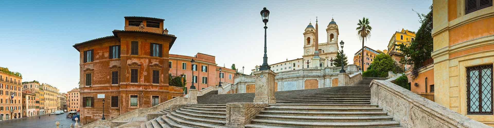 Roma – Albergues próximos a Escadaria de Espanha. Mapas para Roma, Fotos e Avaliações para cada Albergue em Roma.