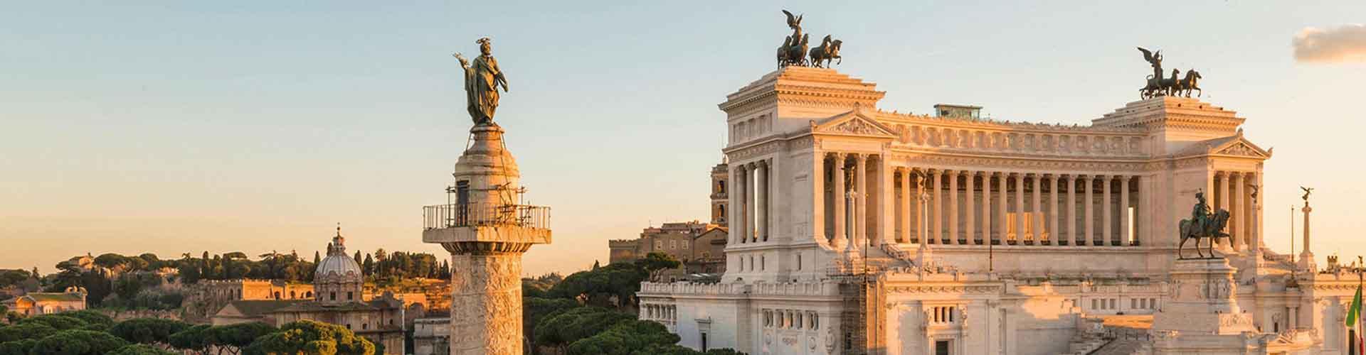 Roma – Albergues próximos a Coluna de Trajano. Mapas para Roma, Fotos e Avaliações para cada Albergue em Roma.
