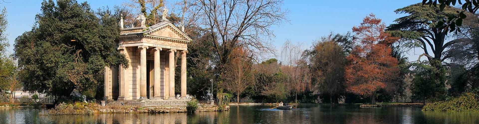 Roma – Albergues próximos a Villa Borghese. Mapas para Roma, Fotos e Avaliações para cada Albergue em Roma.