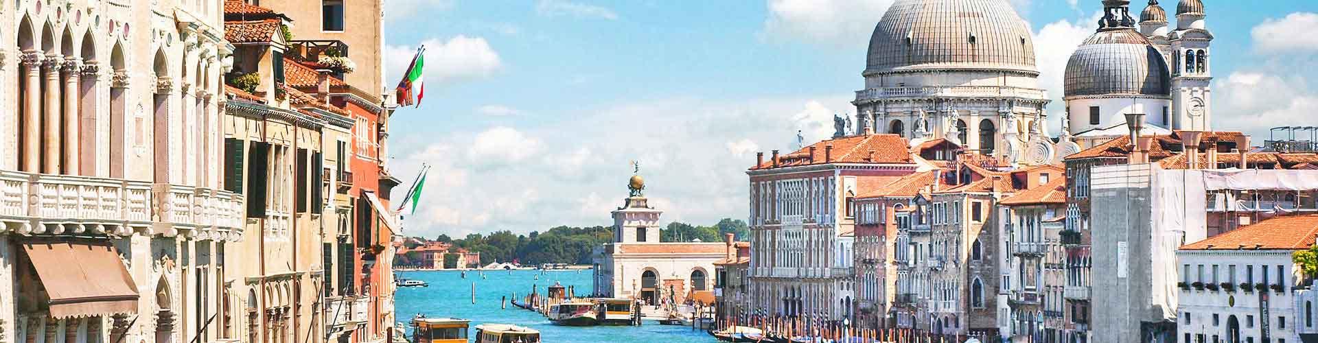 Veneza – Albergues no bairro de Bairro São Marco, Castello, S. Elena, Cannaregio . Mapas para Veneza, Fotos e Avaliações para cada Albergue em Veneza.