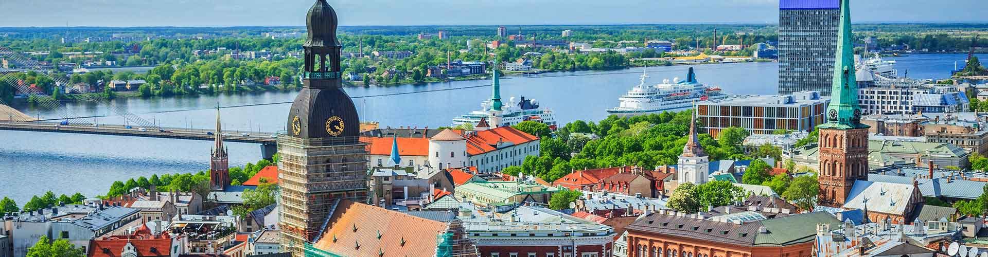 Riga – Albergues em Riga. Mapas para Riga, Fotos e Avaliações para cada Albergue em Riga.
