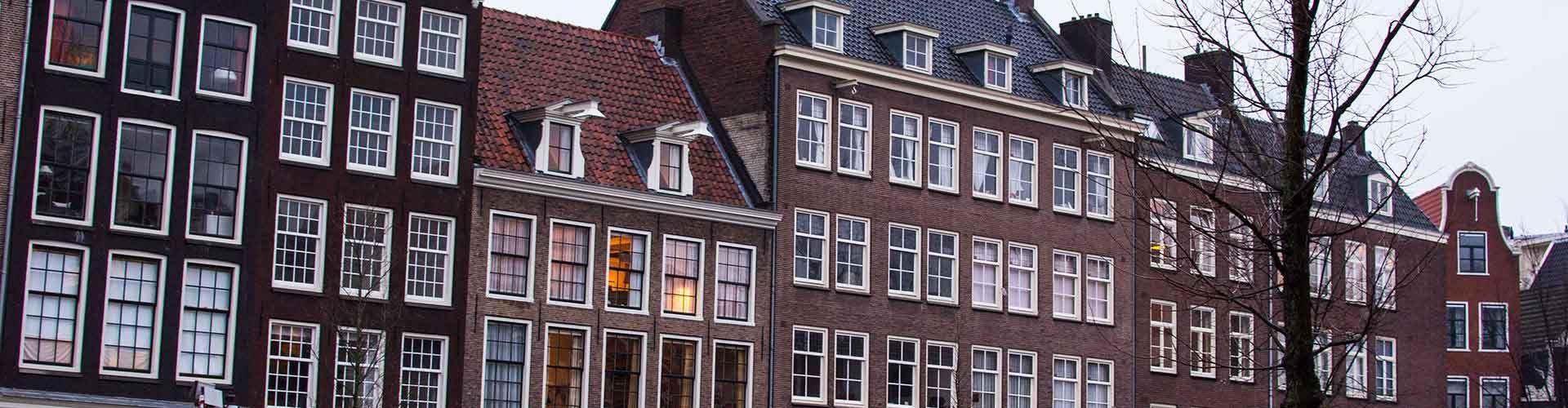 Amsterdam – Albergues próximos a Anne Frank House. Mapas para Amsterdam, Fotos e Avaliações para cada Albergue em Amsterdam.