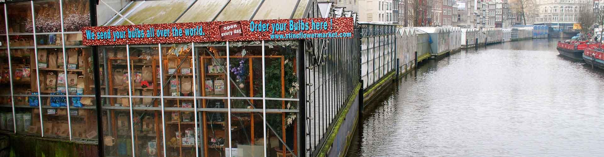 Amsterdam – Albergues próximos a Mercado das Flores. Mapas para Amsterdam, Fotos e Avaliações para cada Albergue em Amsterdam.