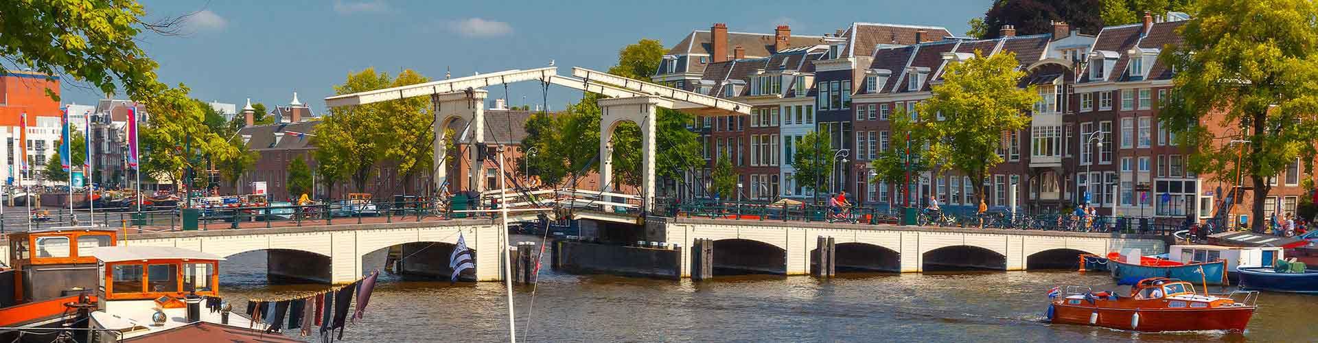 Amsterdam – Albergues próximos a Magere Brug. Mapas para Amsterdam, Fotos e Avaliações para cada Albergue em Amsterdam.