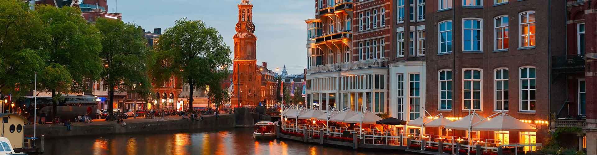 Amsterdam – Albergues próximos a Munttoren. Mapas para Amsterdam, Fotos e Avaliações para cada Albergue em Amsterdam.