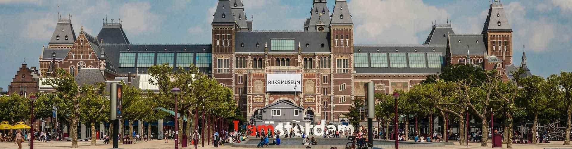 Amsterdam – Albergues próximos a Rijksmuseum. Mapas para Amsterdam, Fotos e Avaliações para cada Albergue em Amsterdam.