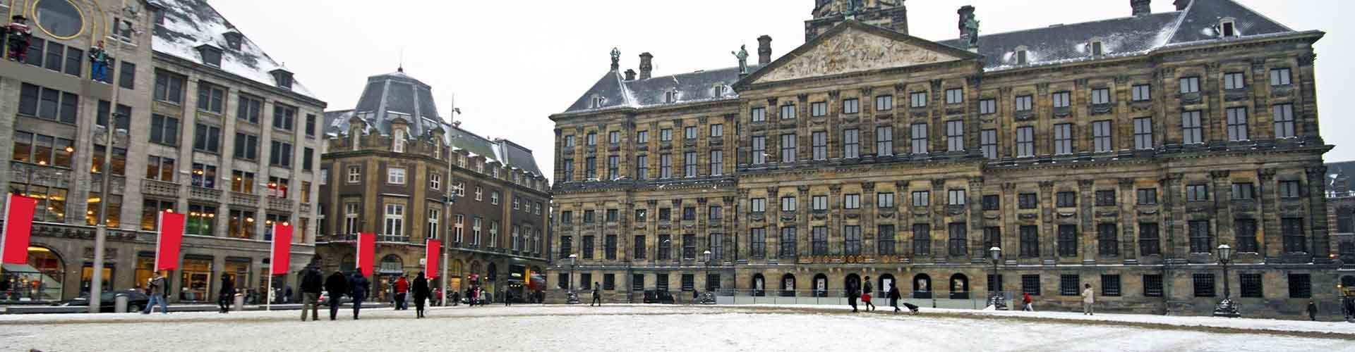 Amsterdam – Albergues próximos a Royal Palace. Mapas para Amsterdam, Fotos e Avaliações para cada Albergue em Amsterdam.