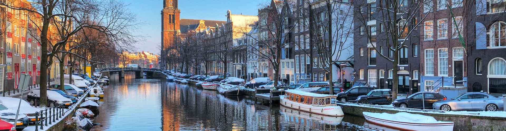 Amsterdam – Albergues próximos a Westerkerk. Mapas para Amsterdam, Fotos e Avaliações para cada Albergue em Amsterdam.