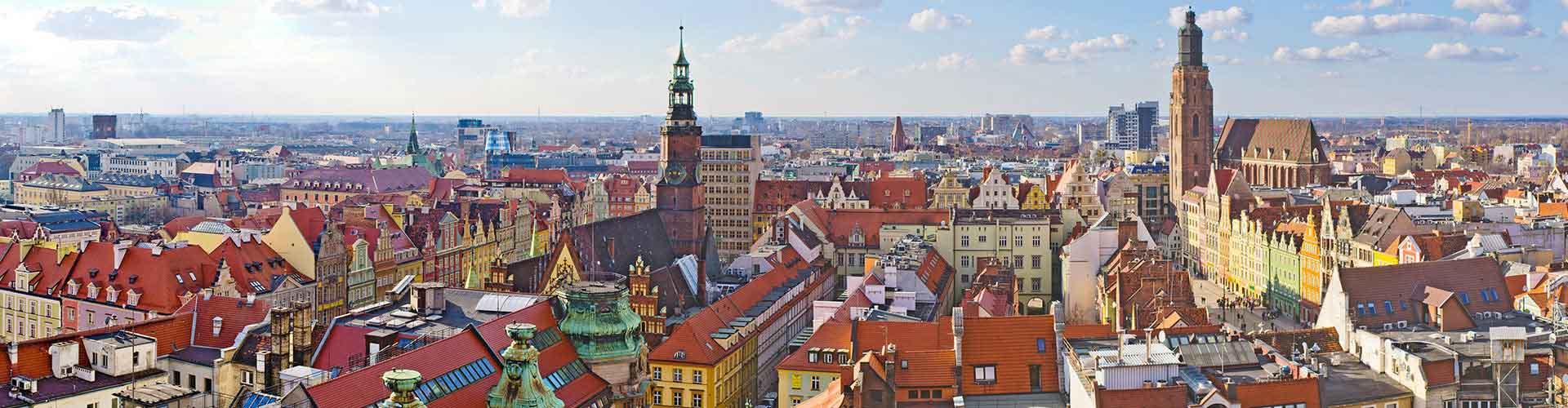 Wroclaw – Albergues em Wroclaw. Mapas para Wroclaw, Fotos e Avaliações para cada Albergue em Wroclaw.