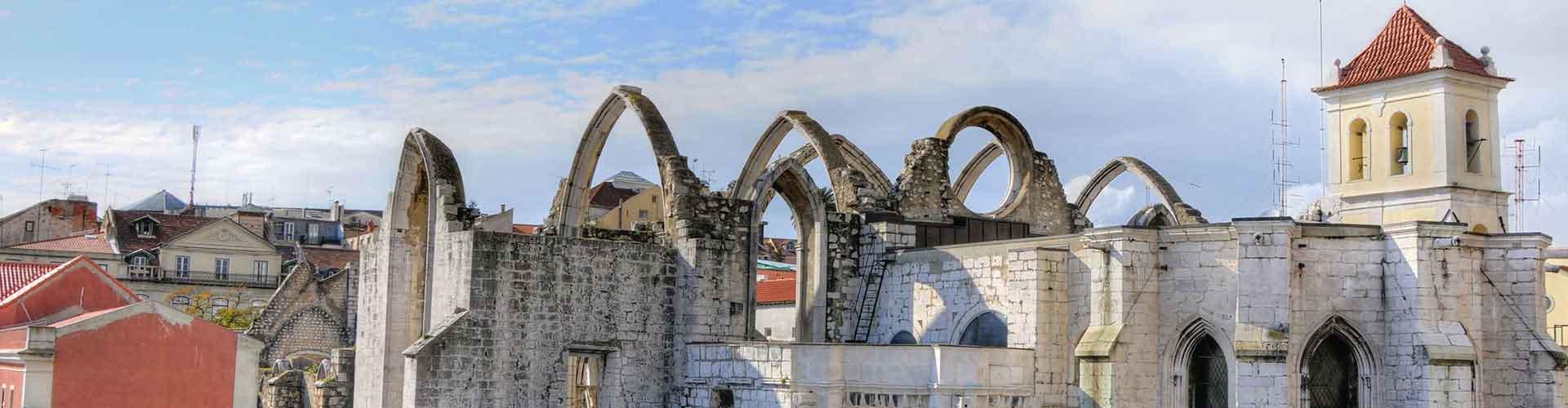 Lisboa – Albergues próximos a Convento do Carmo. Mapas para Lisboa, Fotos e Avaliações para cada Albergue em Lisboa.