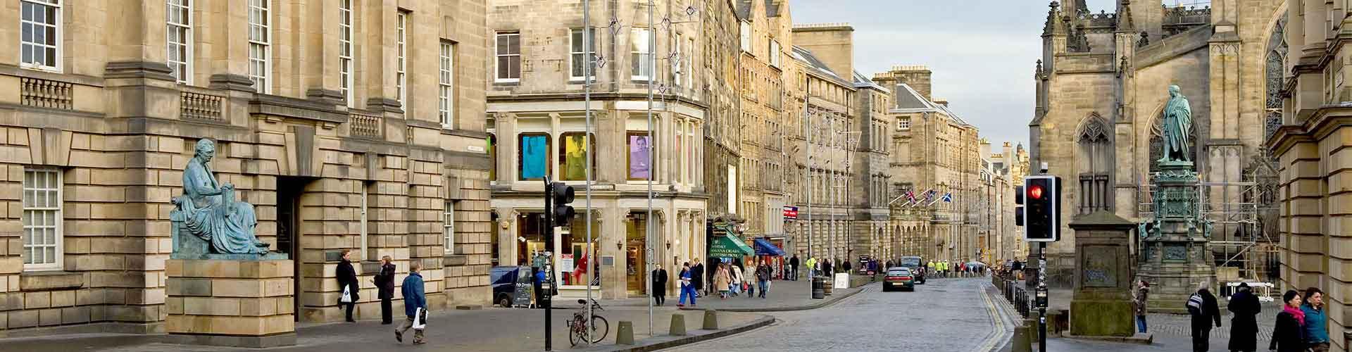 Edimburgo – Albergues no bairro de A rua principal . Mapas para Edimburgo, Fotos e Avaliações para cada Albergue em Edimburgo.