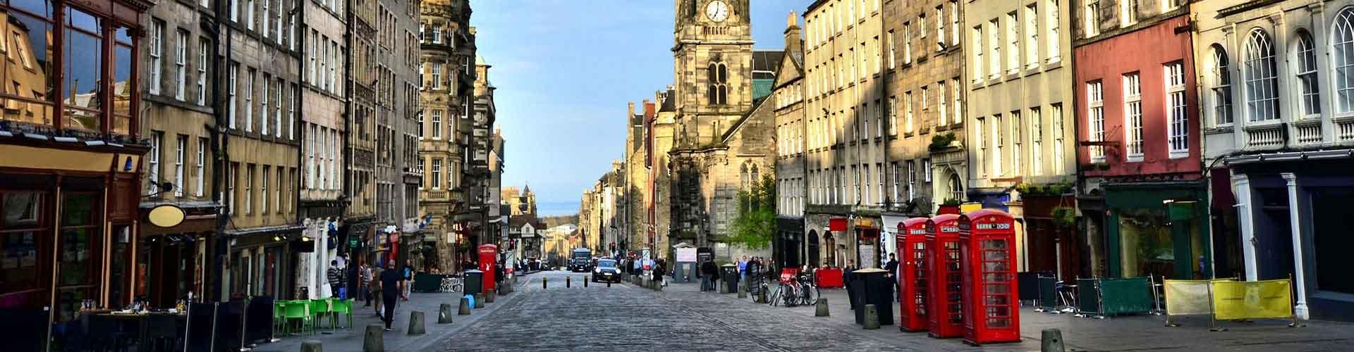 Edimburgo – Albergues no bairro de A Royal Mile . Mapas para Edimburgo, Fotos e Avaliações para cada Albergue em Edimburgo.