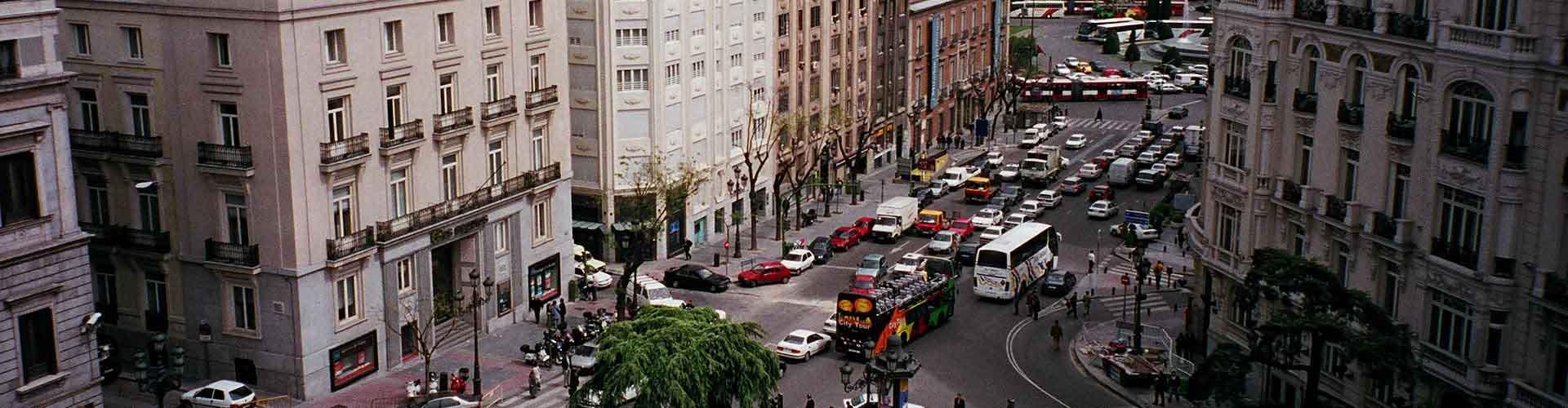 Madri – Albergues no bairro de Cortes . Mapas para Madri, Fotos e Avaliações para cada Albergue em Madri.
