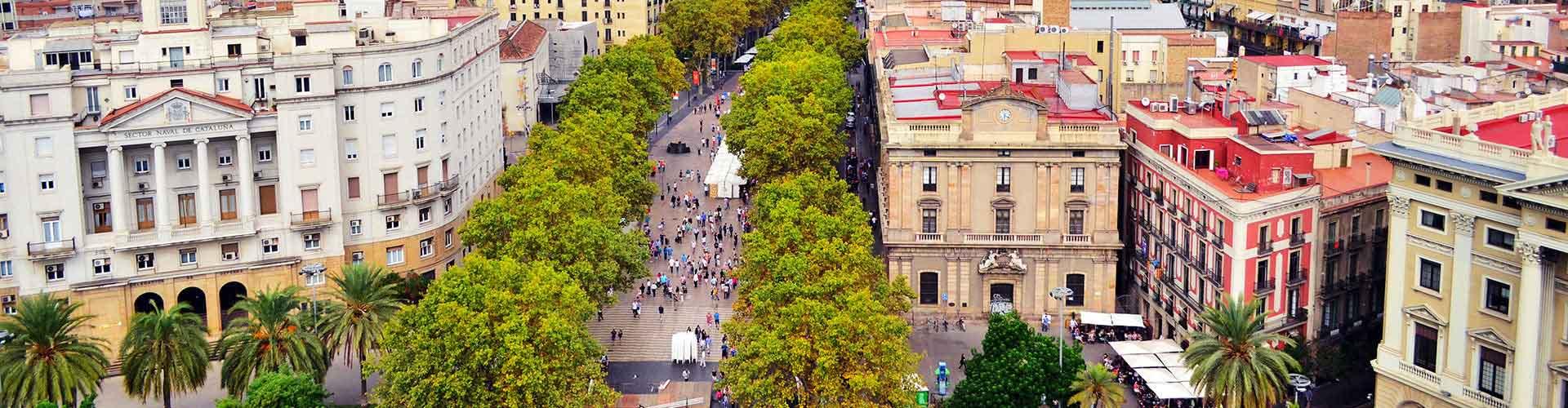 Barcelona – Albergues próximos a Las Ramblas. Mapas para Barcelona, Fotos e Avaliações para cada Albergue em Barcelona.