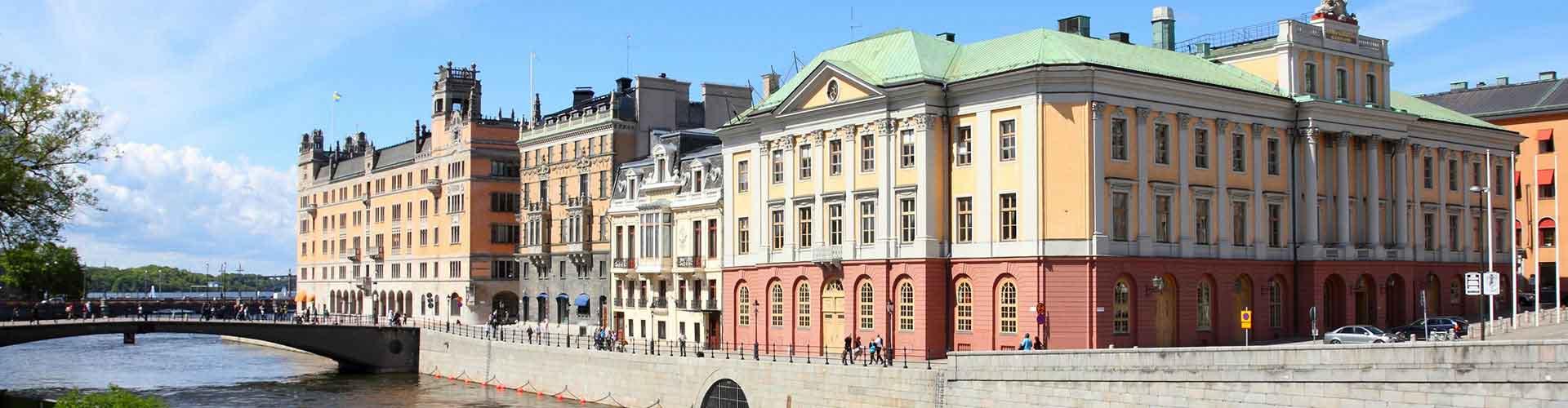 Estocolmo – Albergues no bairro de Norrmalm . Mapas para Estocolmo, Fotos e Avaliações para cada Albergue em Estocolmo.