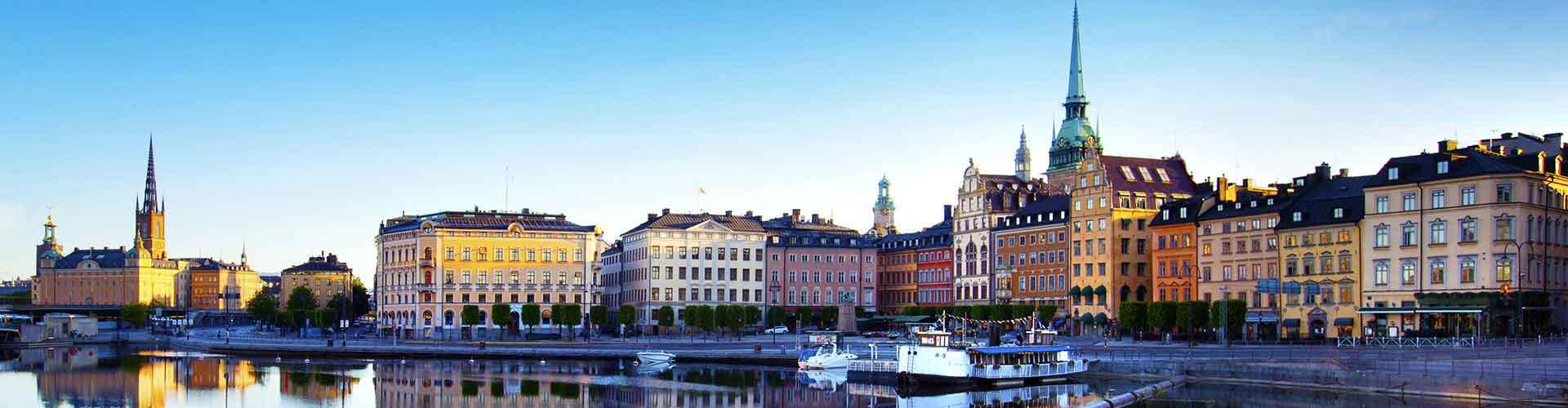Estocolmo – Albergues em Estocolmo. Mapas para Estocolmo, Fotos e Avaliações para cada Albergue em Estocolmo.