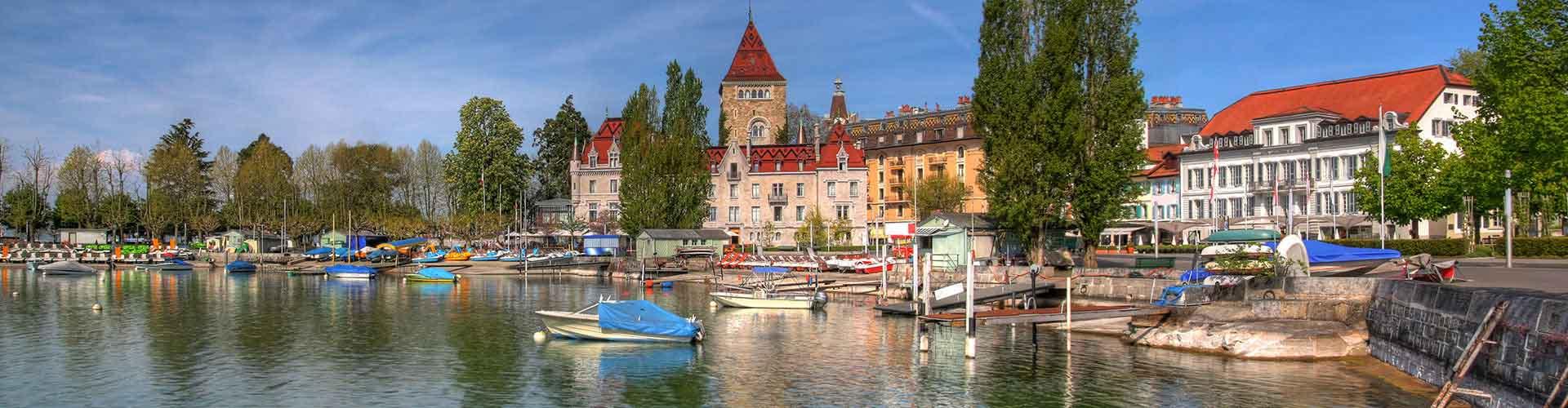 Lausanne – Albergues em Lausanne. Mapas para Lausanne, Fotos e Avaliações para cada Albergue em Lausanne.