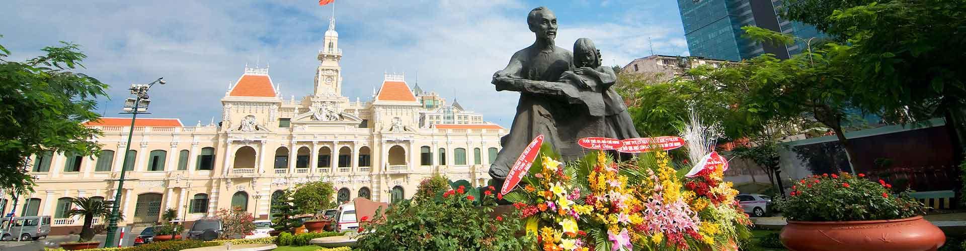 Ho Chi Minh City – Albergues em Ho Chi Minh City. Mapas para Ho Chi Minh City, Fotos e Avaliações para cada Albergue em Ho Chi Minh City.